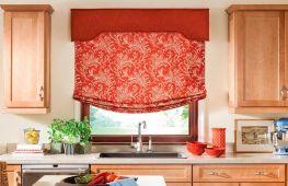 Декорирование кухни: как украсить окна шторами или гардинами. Варианты для разных стилей