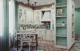 Мотивы французской деревни: дизайн кухни в стиле Прованс