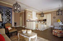 Какая она, гостиная в стиле французского прованса
