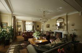 Английский стиль в гостиной: правила оформления