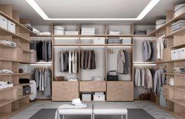 Проектирование и дизайн гардеробной в маленькой квартире или большом доме: варианты, советы, фото