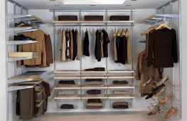 Выбор модульных гардеробных систем