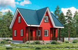 Особенности строительства каркасного дома с мансардой