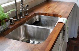 Столешница для кухни: выбор и самостоятельная установка
