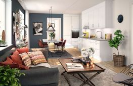 Гостиная в скандинавском стиле: фото интерьеров, идеи и интересные решения