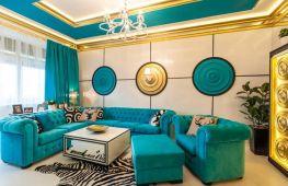 Разнообразные цвета мебели — варианты создания стильного пространства