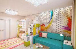 Как правильно совместить детскую комнату с гостиной. Идеи для объединения