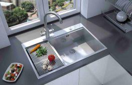 Мойка из нержавейки на кухне: практичное решение каждой хозяйки