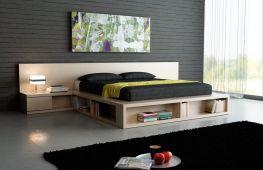 Кровать подиум – оригинальный и функциональный элемент интерьера
