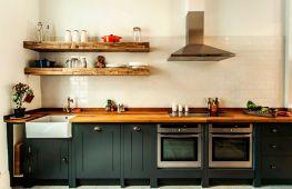 Разновидности кухонных полок. Советы по выбору
