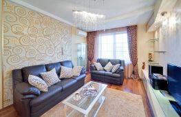 Как выбрать обои для зала — фото, готовые варианты дизайна гостиной