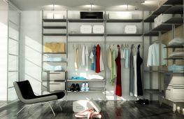 Разнообразие гардеробных систем Аристо и отзывы о продукции