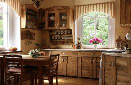 Провинциальный стиль в дизайне кухни – обаяние деревенского уклада