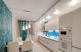 Потолок из гипсокартона: особенности, оригинальные идеи для оформления кухни