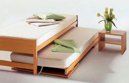 Выдвижные кровати для взрослых: преимущества, модификации, критерии выбора