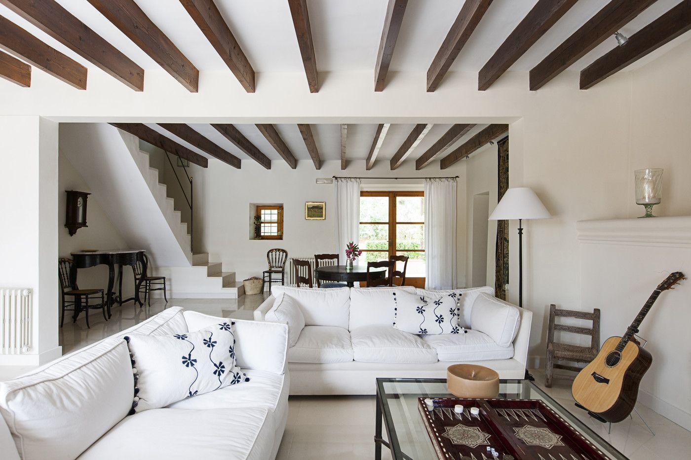балки на потолке