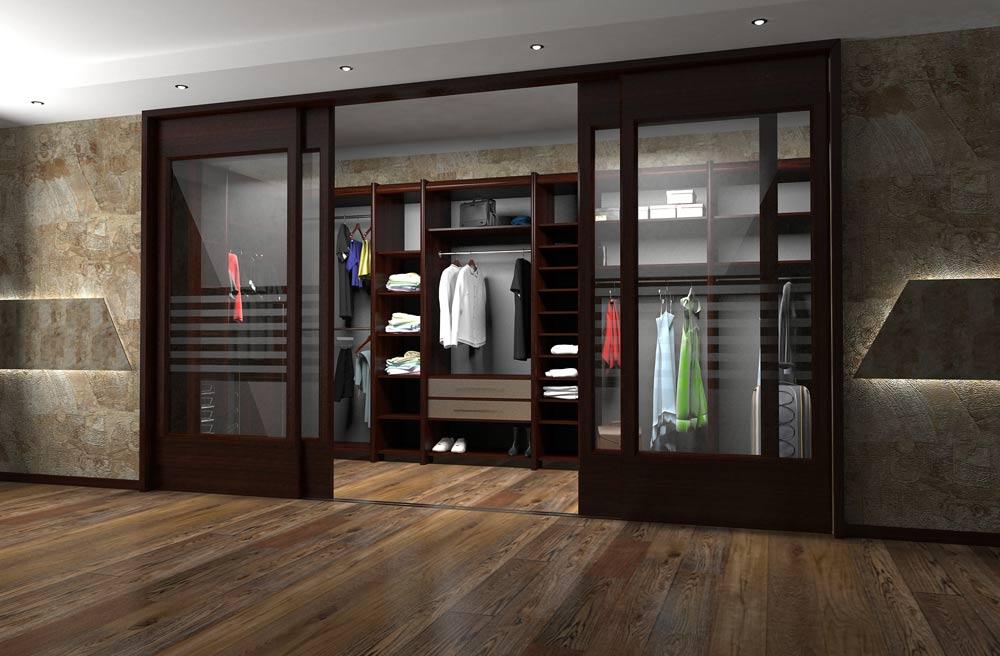 двери гардероба