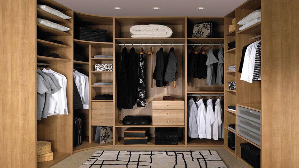 проект гардероба