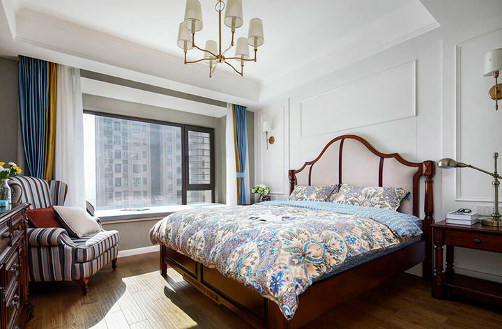 кровать в стиле американском