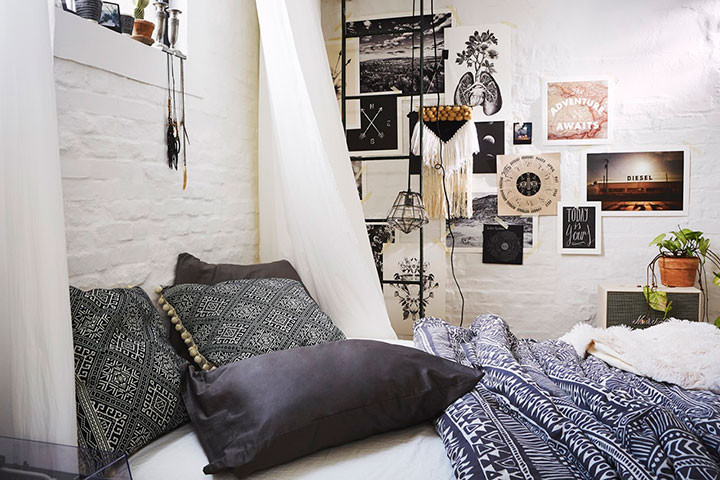 кровать в стиле тамблер
