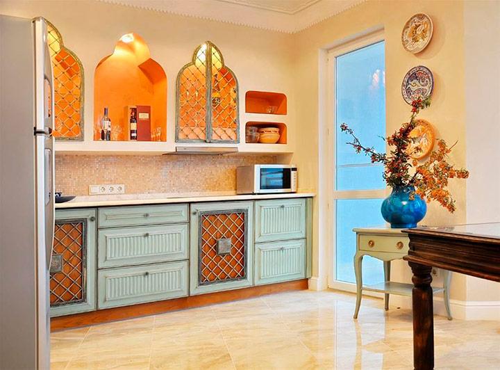 этно интерьер на кухне