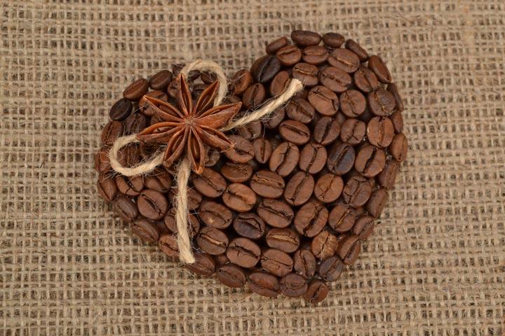 как сделать магнитик из кофе