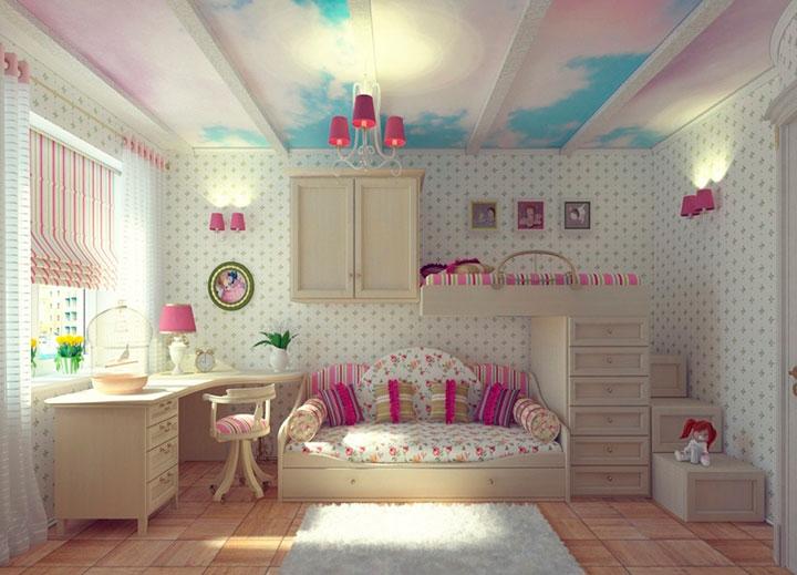 комната для школьницы