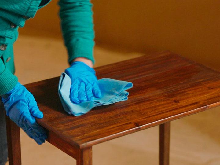 реставрация столика