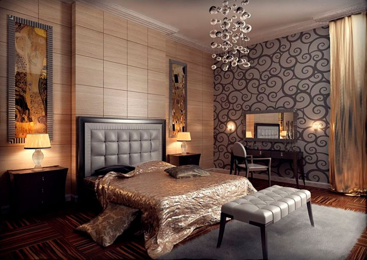 модерн в дизайне спальни