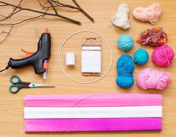 материалы для изготовления цветов из бумаги