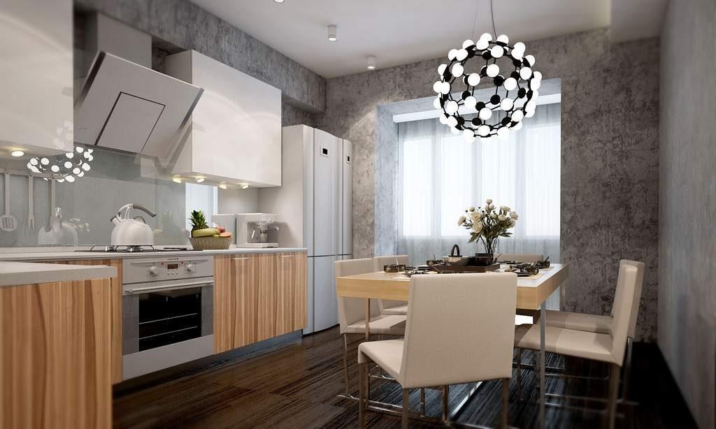 отделка кухонных стен