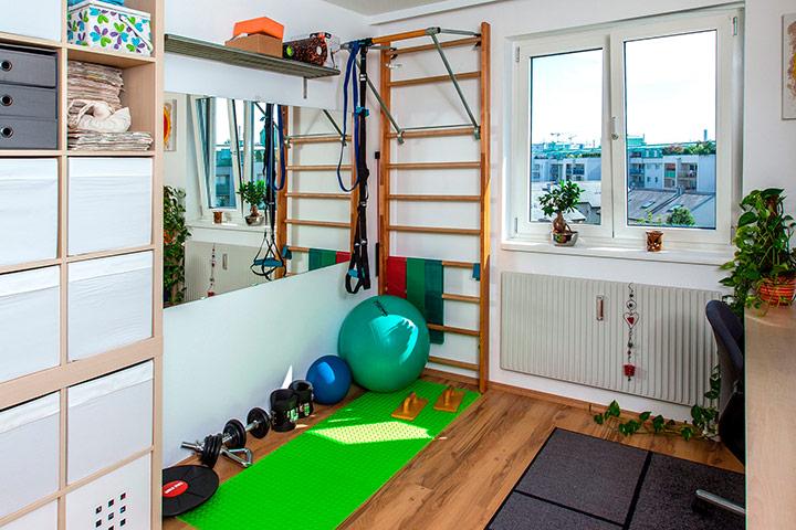 спортивный уголок в квартире