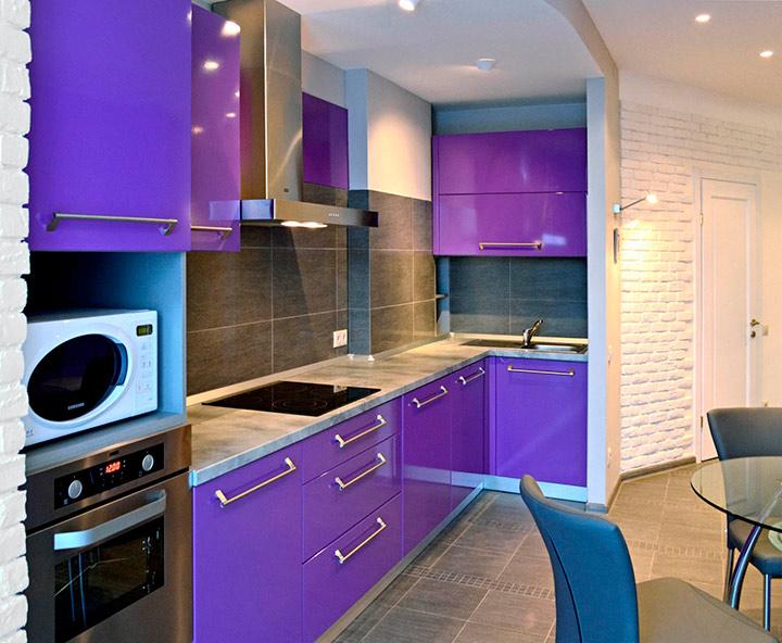 мебель в фиолетовых тонах