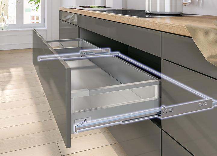выдвижной ящик для кухни