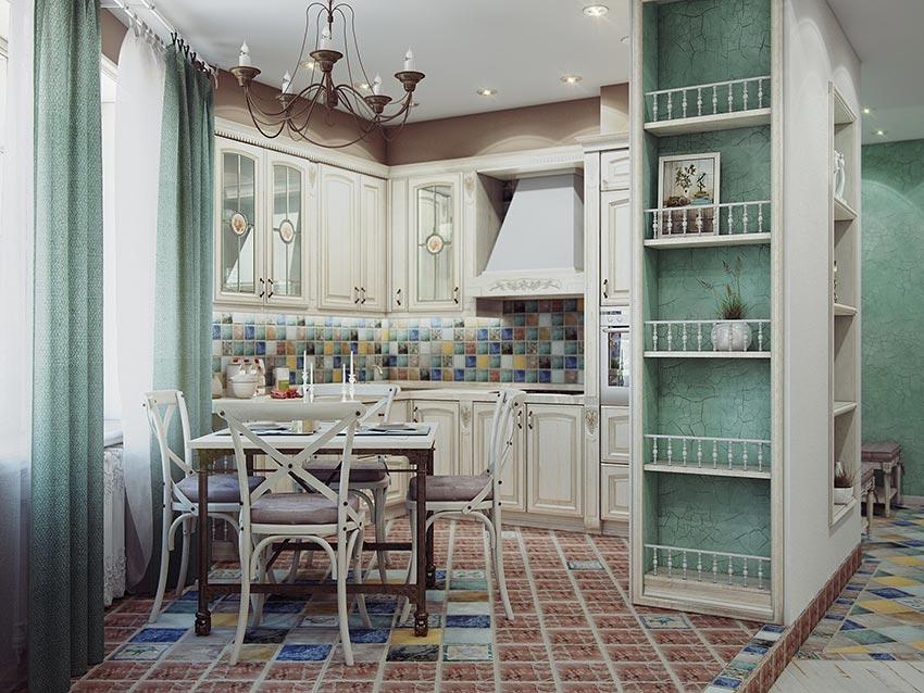 кухня в стиле прованс 30 лучших идей для оформления интерьера кухни