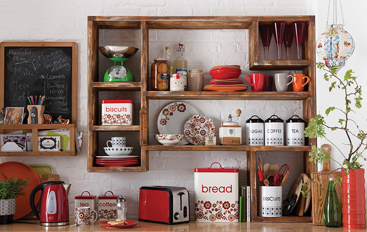 полочка для кухни ретро