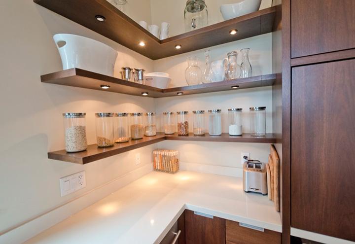 угловые полочки для кухни