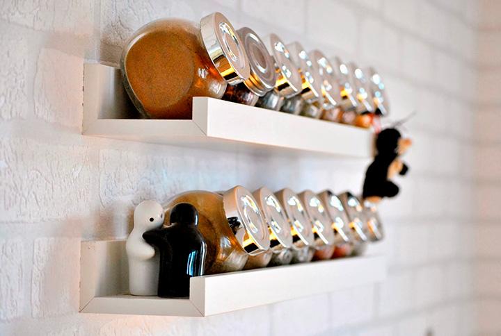 хранение банок на кухне