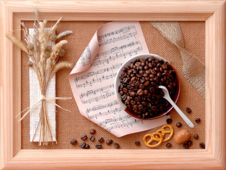 панно кофе