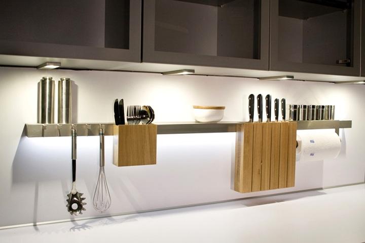 размещение мелочей на кухне