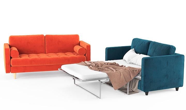 как разложить диван