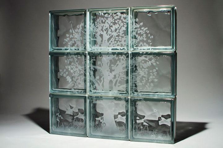 прозрачная плитка