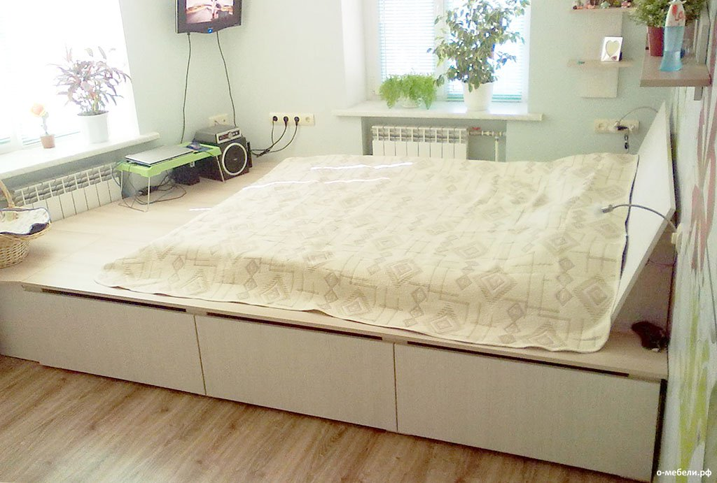 создание кровати